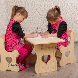 Lastelaud ja toolid