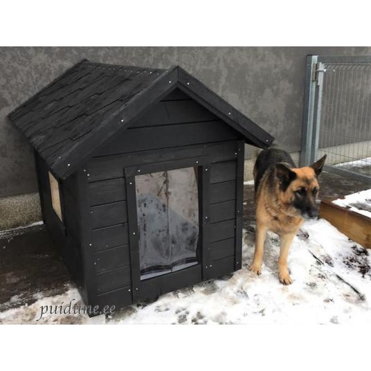 Dog house JACKY 2 black 6.png