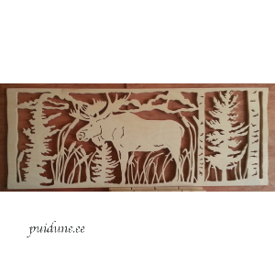 Vineerist pilt Põder metsas.png