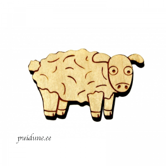 Puidust magnet Lammas.png