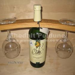 Pokaalihoidja veinipudelile