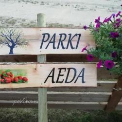 """Puidust silt """"Parki"""" või """"Aeda"""""""
