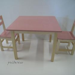 Kandiline laud ja 2 tooli