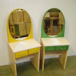 Laste peeglilaud (kasevineerist, tooliga või ilma)