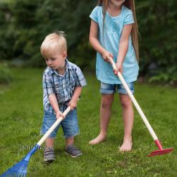 Laste aiatööriistade komplekt