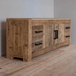 AW 2 ukse ja 4 sahtliga (taaskasutatud puidust)