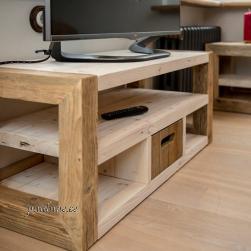 Televiisorilaud AWCOL 01 sahtliga (taaskasutatud puidust)