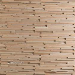 Seinapaneel Fractus (uuest puidust)