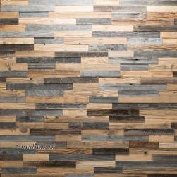 Seinapaneel Largo (taaskasutatud vanast puidust)