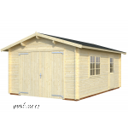 Garaaž Roger puitväravaga (19 m²)