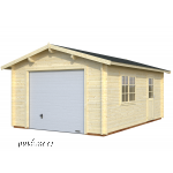 Garaaž Roger tõstetava sektsioonuksega (19 m²)