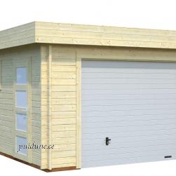 Garaaž Rasmus tõstetava sektsioonuksega (19 m²)