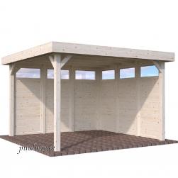 Aiapaviljon Lucy 6 puitelemendiga (12,2 m²)
