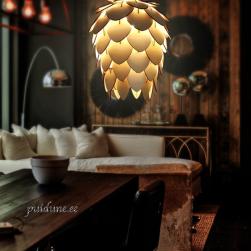 Puidust Lamp Leaf