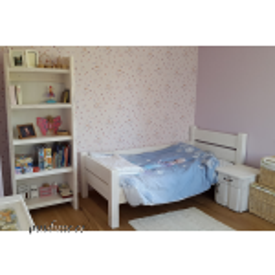 Lastetoa komplekt servamata lauast 001 (voodi, riiul, öökapp)