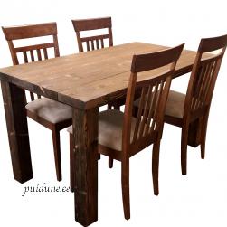 Söögilaud 001 (vanutatud lauajalgadega)