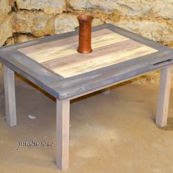Diivanilaud (taaskasutatud puidust)