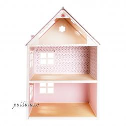 Nukumaja Roosi (kahekorruseline, rõduta, lilla katusega)
