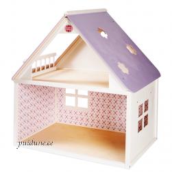 Nukumaja Roosi (ühekorruseline, lilla katusega)