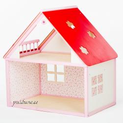 Nukumaja Roosi (ühekorruseline, punase katusega)