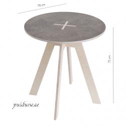 Ümmargune laud 123OK (Eesti disain)