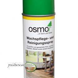 Osmo värvitu puhastusvaha spray õlivahaga töödeldud pindadele sisetingimustes