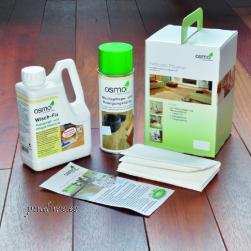 Osmo puhastus- ja hoolduskomplekt puitpindadele sisetingimustes