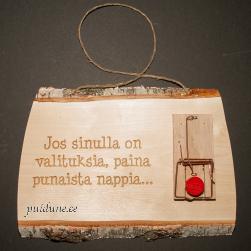 Lõksusilt (soome keeles)