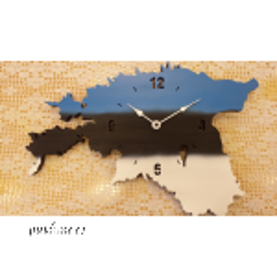 Seinakell Eesti (lamineeritud vineer, sinimustvalge)