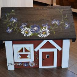 Postkast Maja (rukkilillede ja karikakardega)