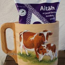 Piimakann (lehma ja vasikaga)