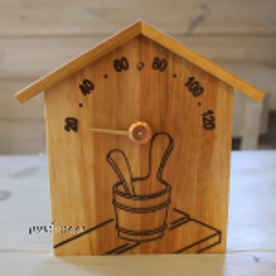 Saunatermomeeter katusega