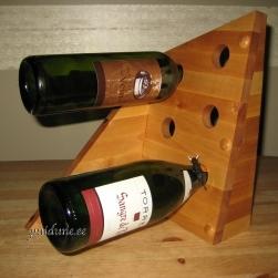 Veinipudelihoidja lauale