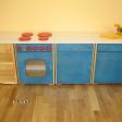 Puidust laste köögimööbel moodulitena sinine.png