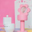 Puidust vannitoa mööbel nukule roosa.png